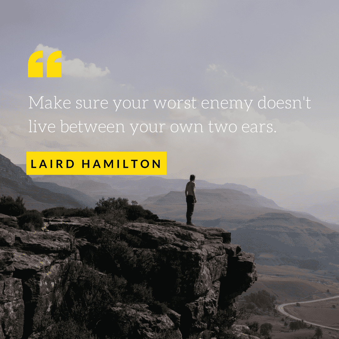Surfing quote by Laird Hamilton