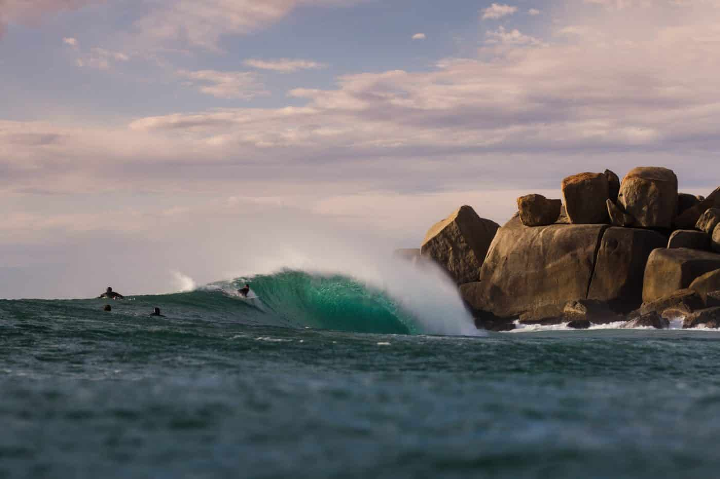 Surf Guide photo by Simon Heale featured on South Africa Surf Tours website