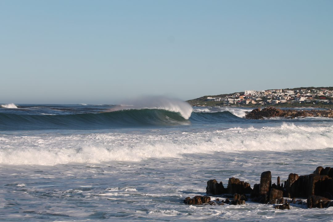wave in onrus south africa