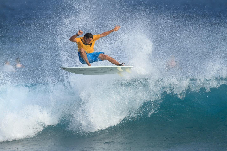 Maldives surfer