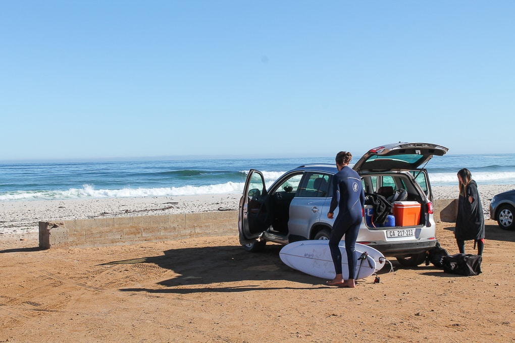 South Africa Surf Tours personal surf guide