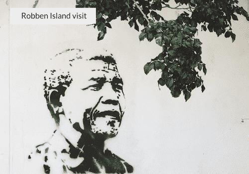 robben island visit